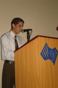 Emotivo discurso pronunció Ervis Díaz